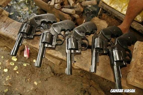 Dalang Penyeludup Senjata Berjaya Dikenal Pasti