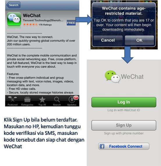 Link Download Aplikasi Chatting WeChat