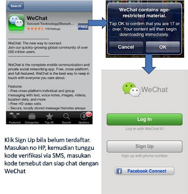 Download Aplikasi Chatting WeChat
