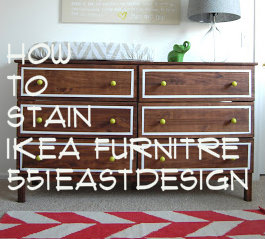 551 east ikea dresser hack how to stain ikea furniture