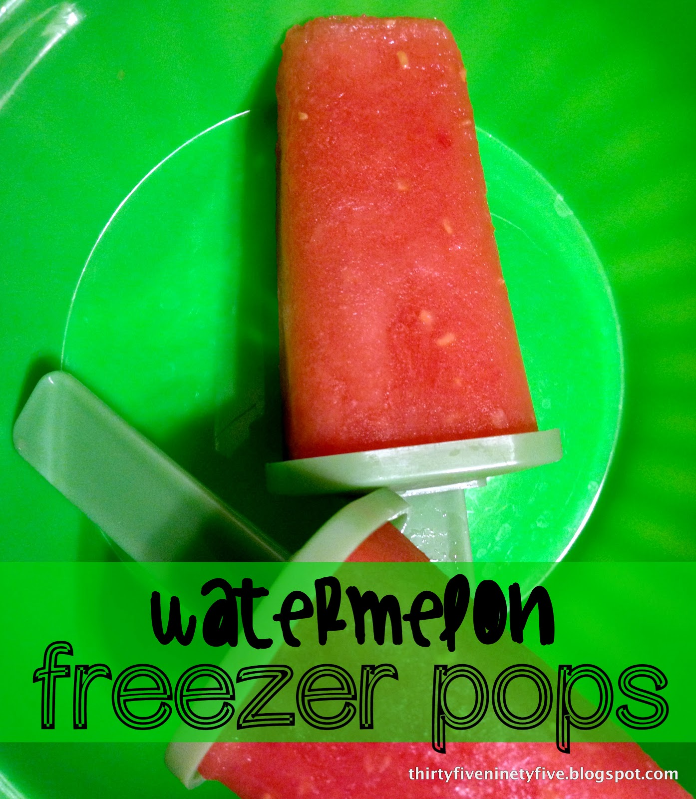 3595: Watermelon Freezer Pops