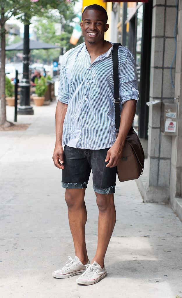 Street Style Inspiration Men Casual Summer