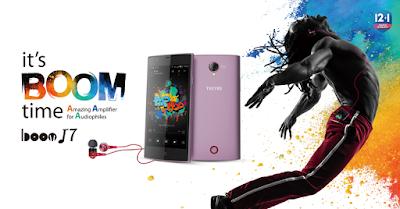 Techno Boom j7
