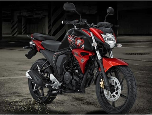 Yamaha Byson FI (Full Injection) merah