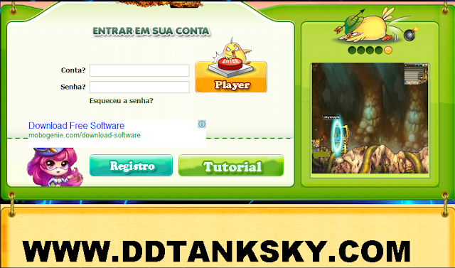 DDTank Sky free 9999999999 coins