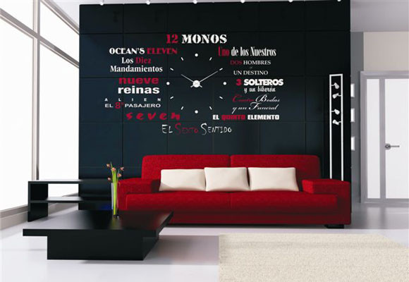 Gusmark publicidad se alizacion industrial y empresarial - Vinilos decorativos para salon comedor ...