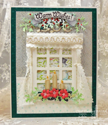 Our Daily Bread Designs, Warm Wishes, Welcoming Windows, Lovely Leaves, Double Stitch Rectangles, Bird Cage and Banners, Christmas Candles, Shabby Rose Collection, By Robin Clendenning