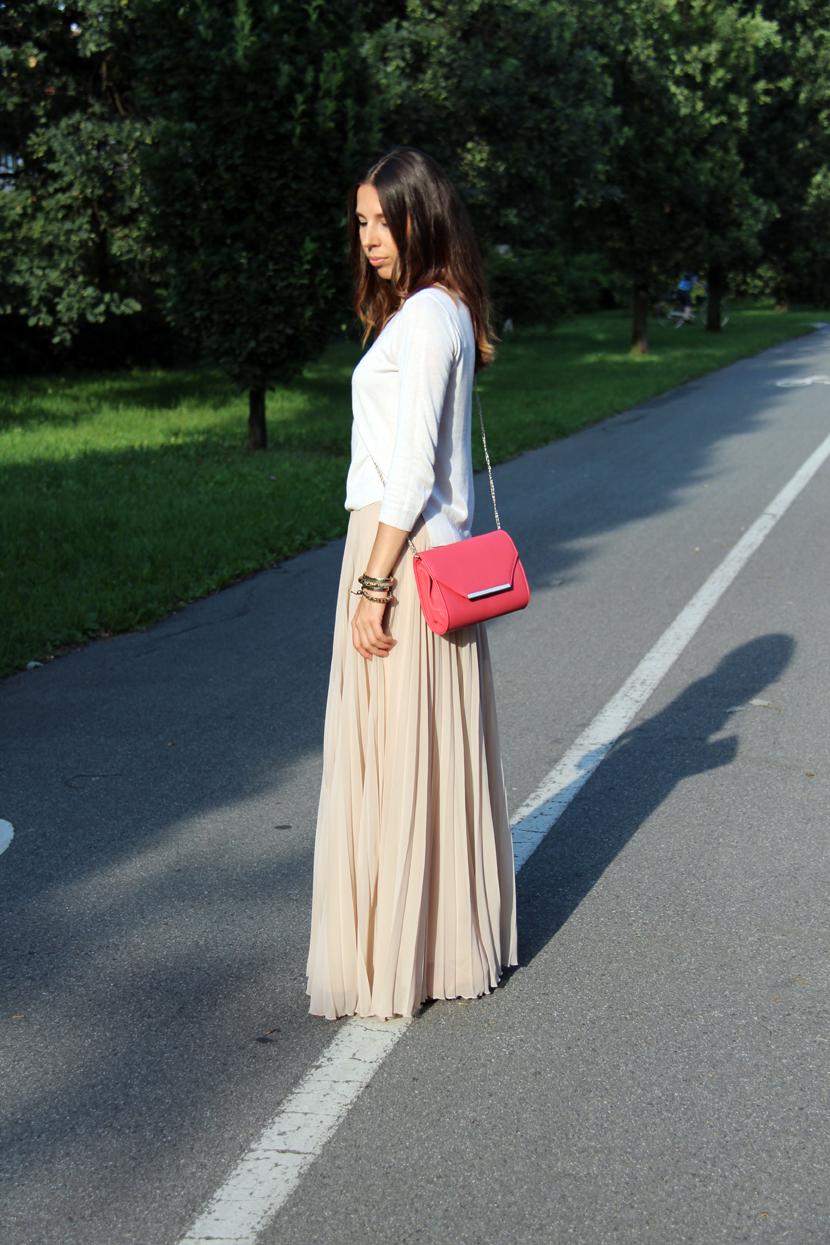 plisowana spódnica Zara