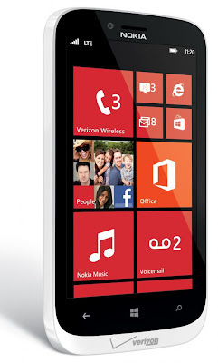 Nokia Lumia 822 - USA - Verizon Wireless