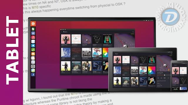 Tablet com Ubuntu