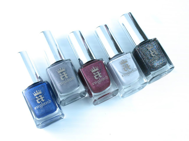 A England To Emily Bronte Collection: Review and Swatches