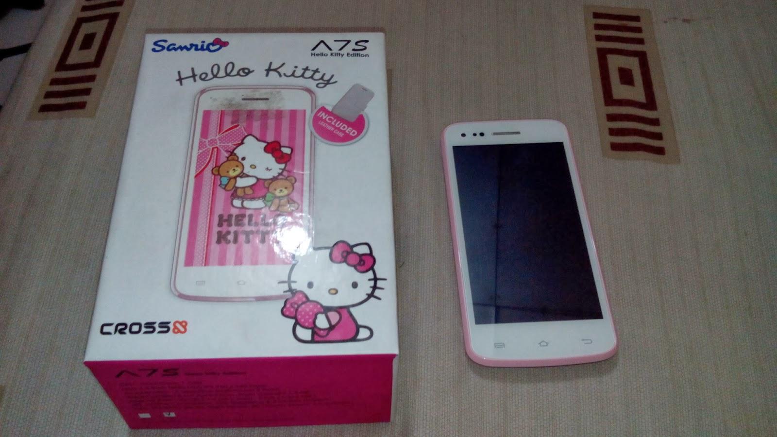 Cross A7s Hello Kity Smartphone Dengan Sentuhan Manis