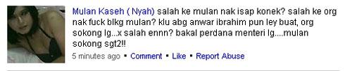 Kalau Anwar boleh kenapa Mulan tak boleh?