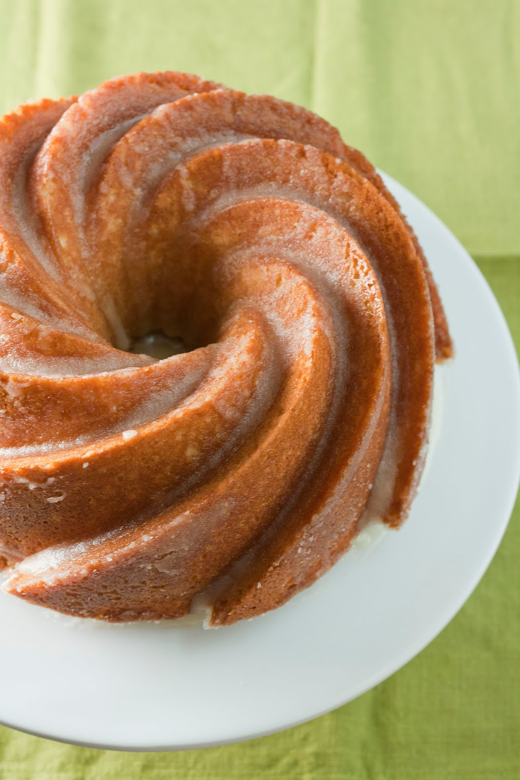 Bourbon and brown butter pound cake recipe