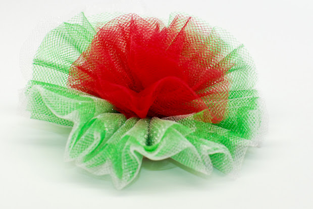 tulle carnation bow tutorial