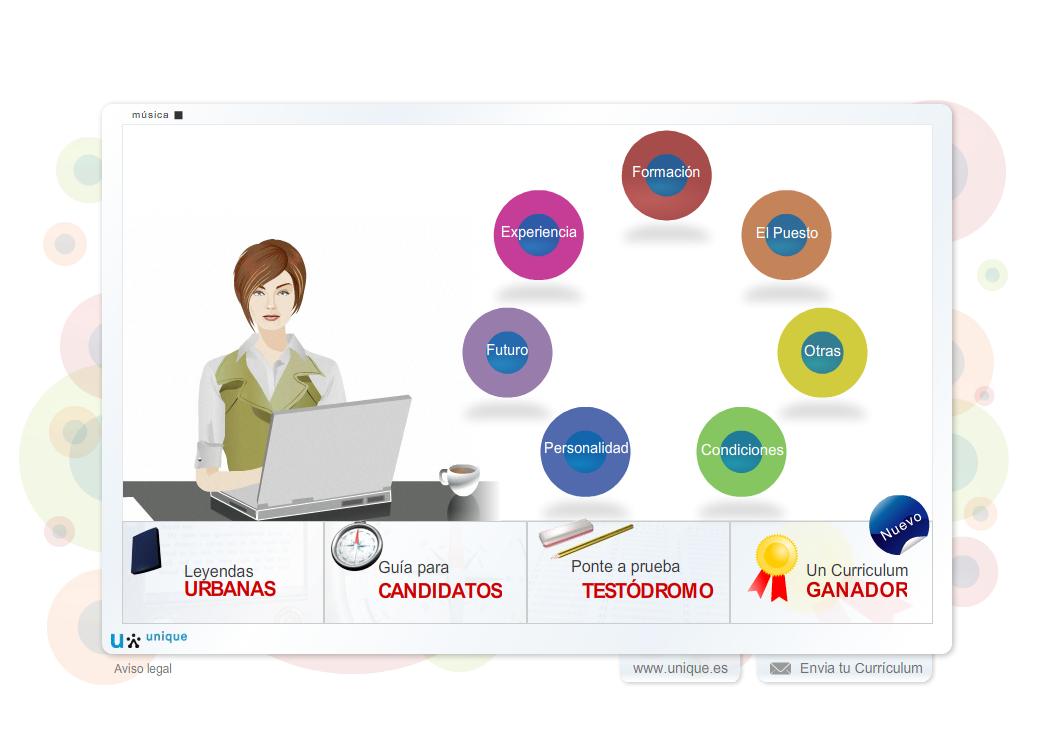 Easy learn simulador virtual de entrevistas de trabajo for Ina virtual de empleo