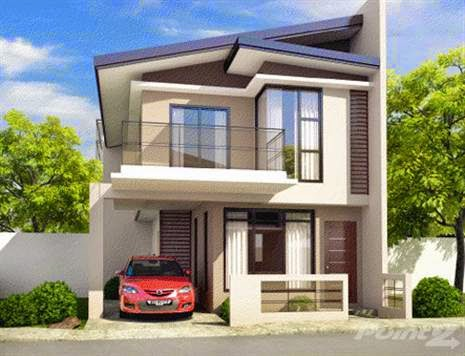 33 beautiful 2 storey house photos for Three storey house designs in the philippines