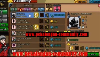 Update New Special Cheat Play Ninja Saga New 2013, Open all item PERMANENT