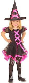 Halloween Kostume Heksekjole
