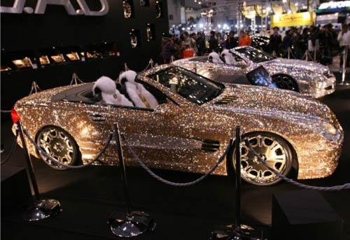 Most Expensive Car Swarovski Studded Mercedes Sl600 Indi