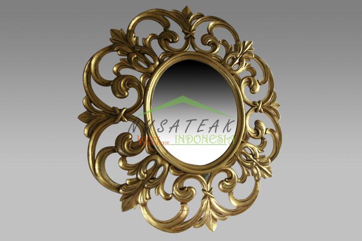 Vivo Antique Gold Leaf Wall Mirror
