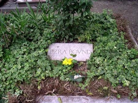 Tumba de Ezra Pound en Venecia