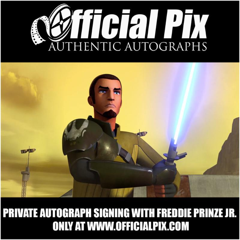 Official Pix signing with Freddie Prinze, Jr! Deadline April 23