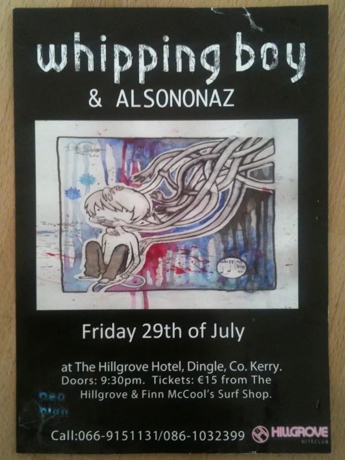 Das westlichste Konzert des Jahres - Whipping Boy in Dingle