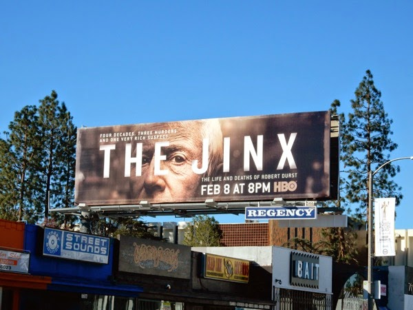 Jinx series premiere billboard