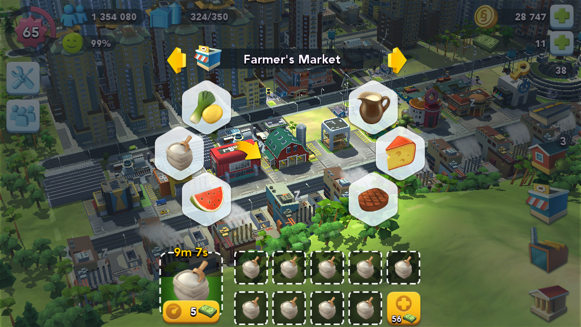 Donuts Simcity Buildit