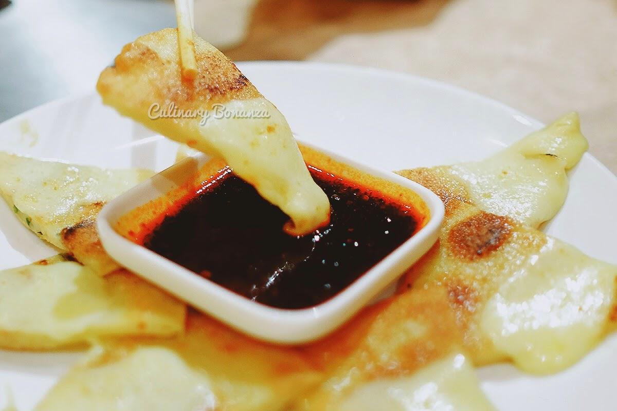 Cijimi (Japanese pancake with scallion & carrot)