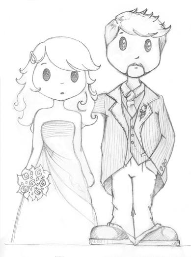 Bocetos para una boda ~ Lorion. Los mundos de Chary