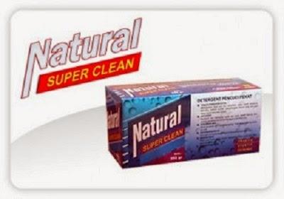 Natural Super Clean Detergen