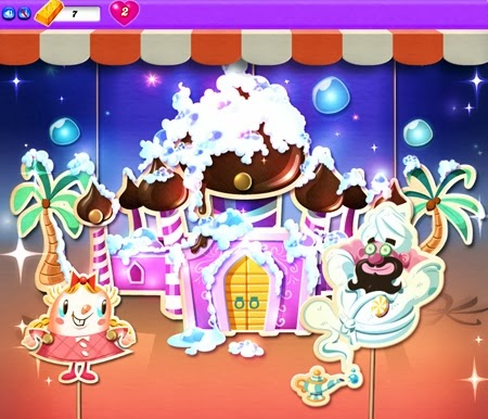 Candy Crush Saga:Dreamworld 111-125