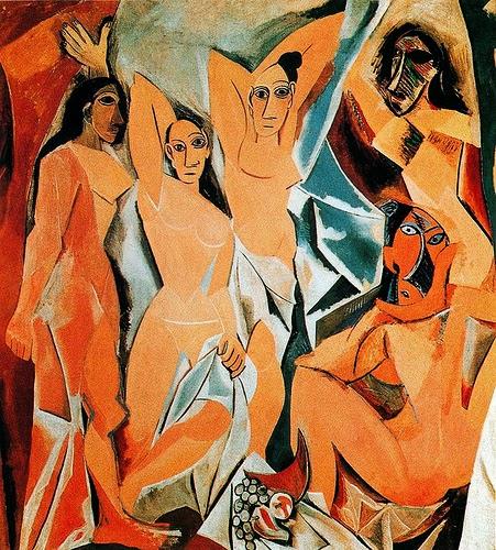 Las señoritas de Avignon. Pablo Picasso Las-senoritas-de-avignon