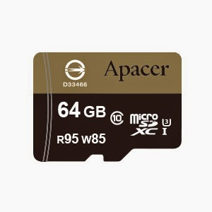 Apacer UHS-I U3 Ultra High Speed Memory Card