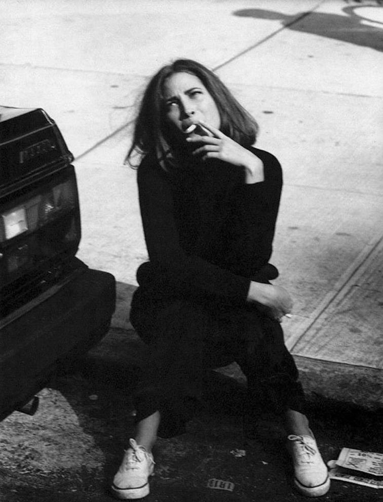 Christy Turlington by Steven Meisel Vogue Italia October 1989