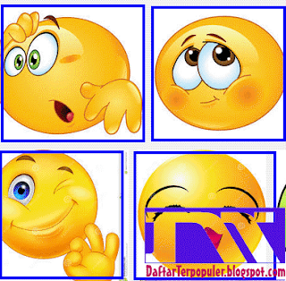 koleksi emoticon smiley  facebook