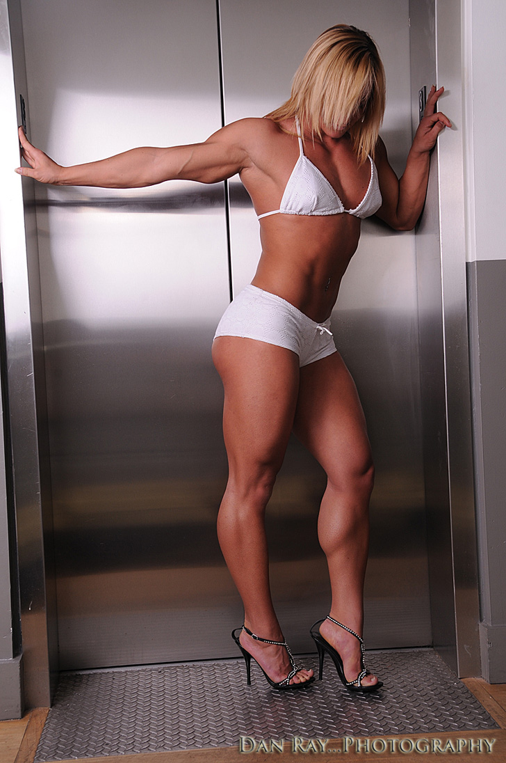 Katka Kyptova Posing Her Great Legs And Fit Physique