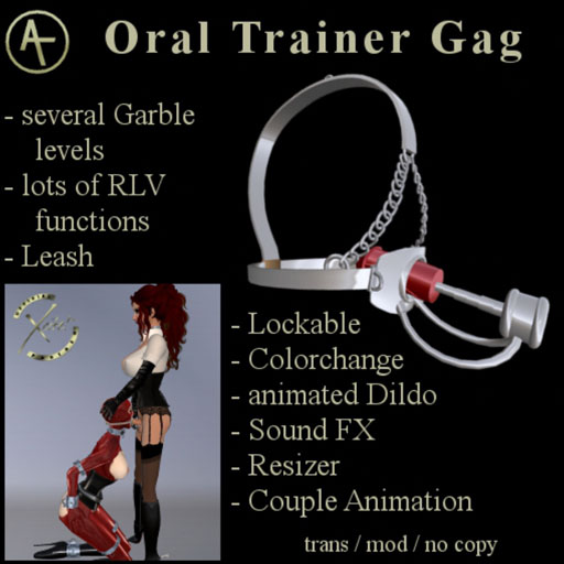 Oral trainer bondage device