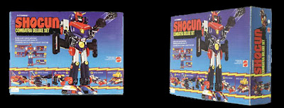 Mattel Shogun Warriors Combatra Deluxe Set