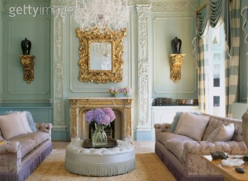 the retrochic corner a french decor living room inspiration
