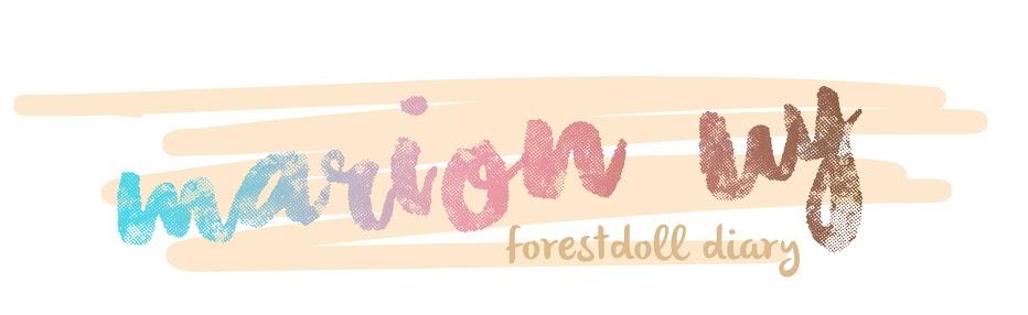 Forestdoll Diary // @mariyeun