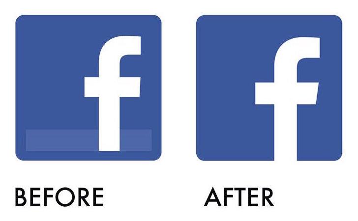 skignz: Matching facebook with a subtle 'brand refresh' Facebook App Logo