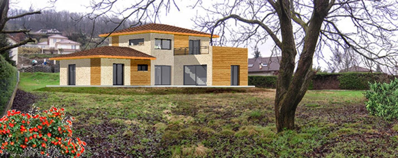 Realisations et vues 3d claire chavanne permis de for Agrandissement maison permis de construire