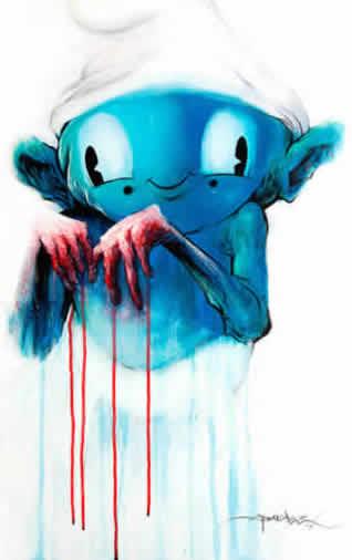 Azul De Los Pitufos Est Asociado Con La Tonalidad Piel En