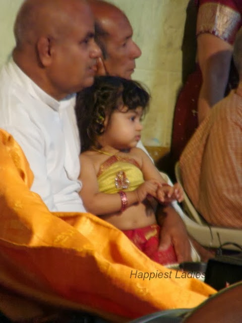 Indian Baby at India Wedding
