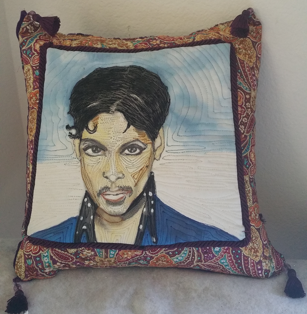 Prince Pillow Tribute