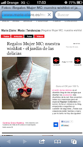 JdL EN MARIECLAIRE.COM