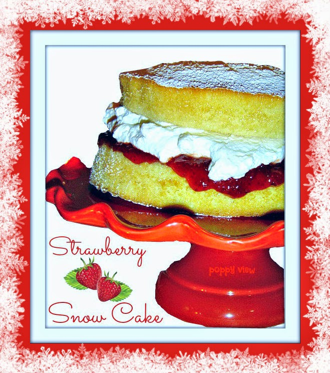 Strawberry Snow Cake